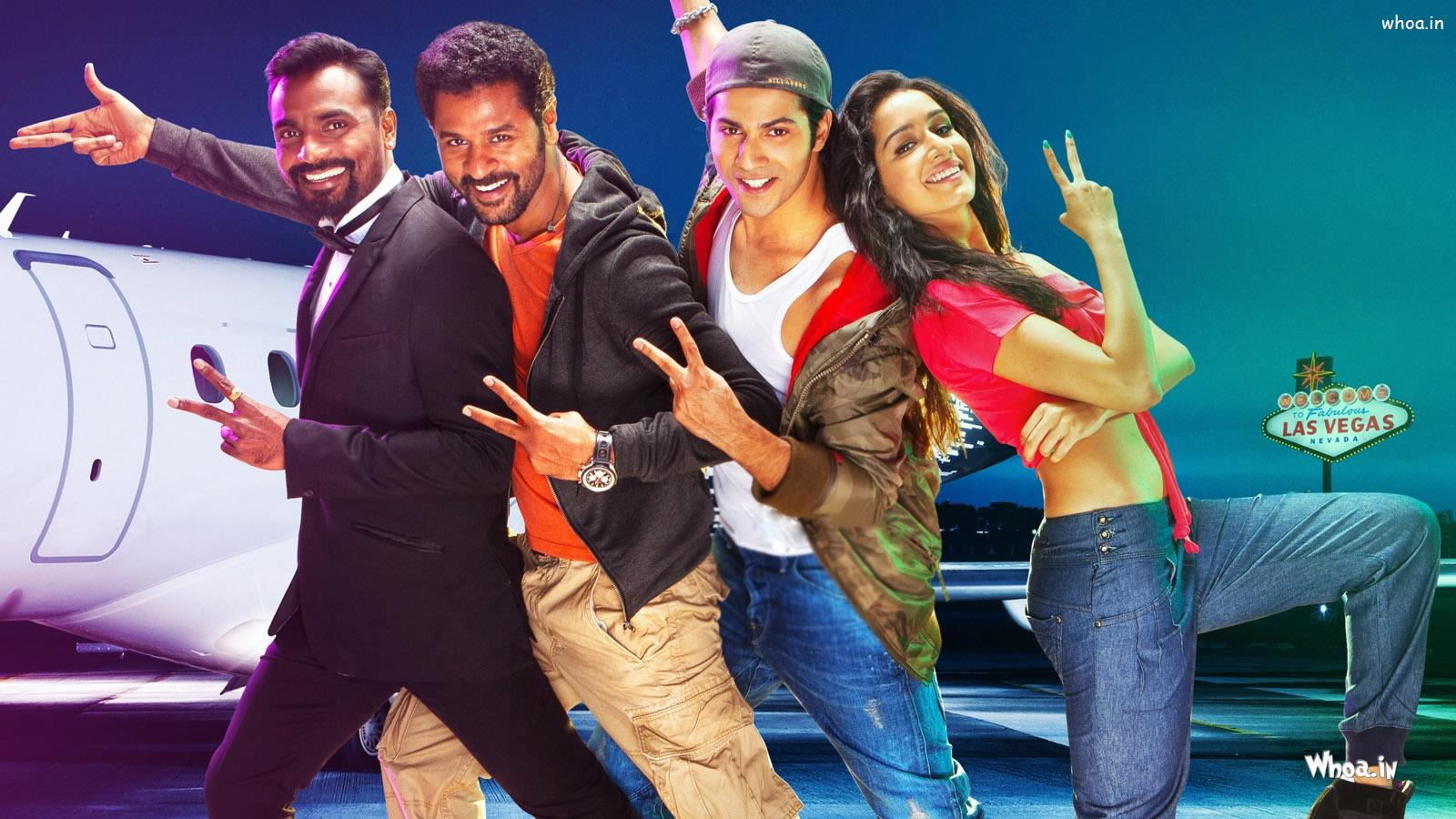 abcd 2(any body can sance 2) bollywood movies hd poster