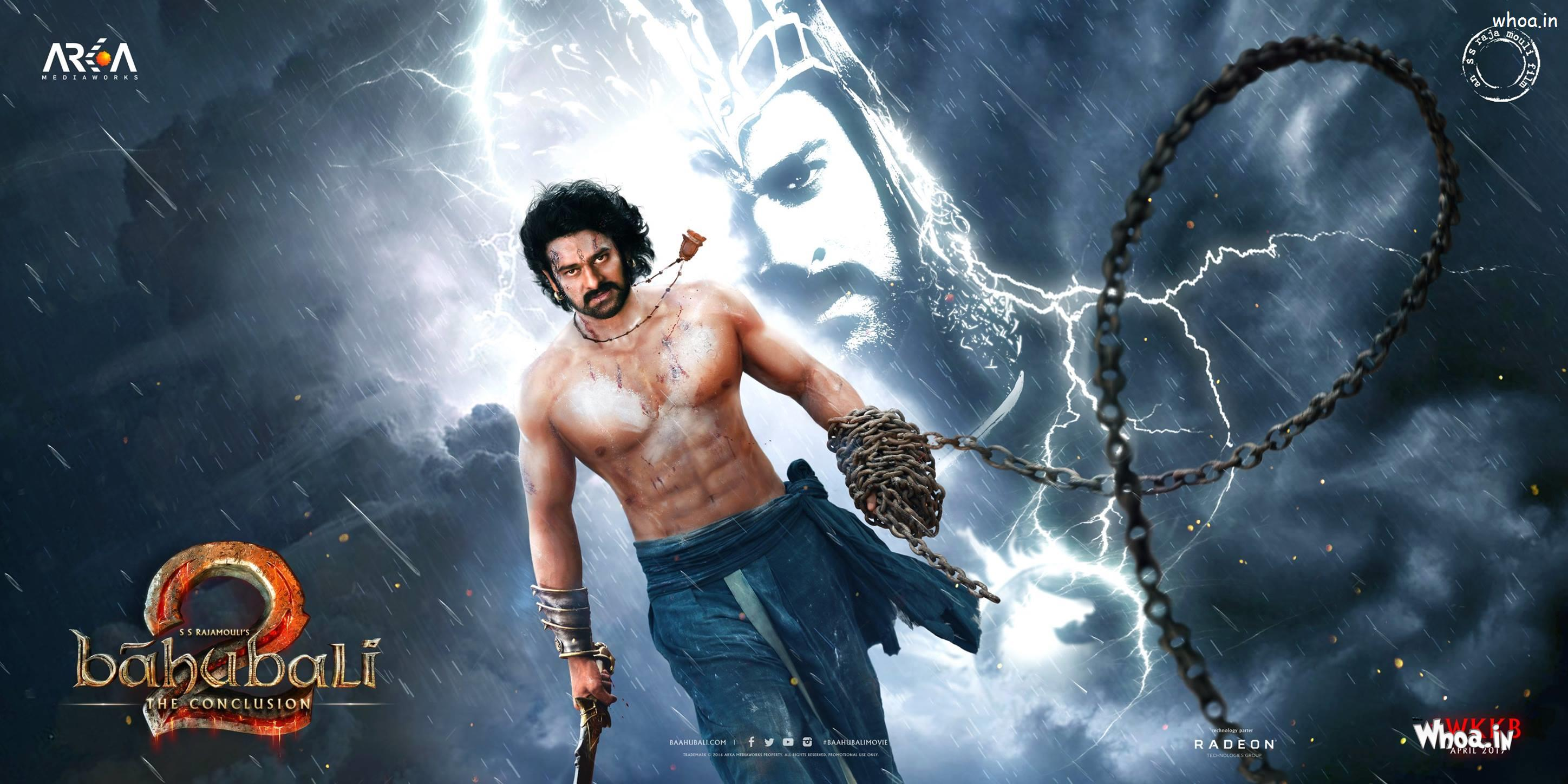Bahubali 2 Fight Poster 2017 Prabhas Hd Movies Wallpapers