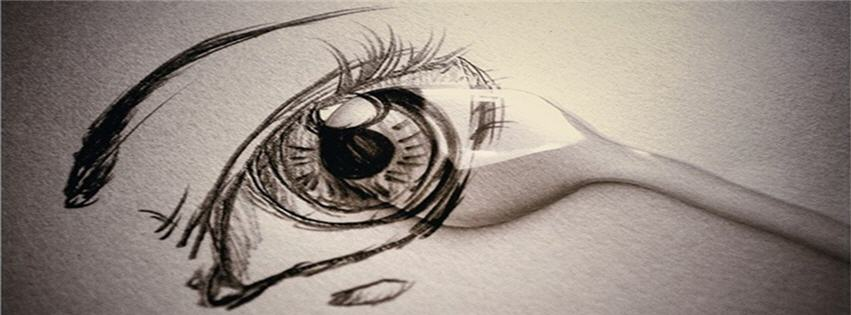Eyes Crying Painting Crying Eye Painting fb Cover