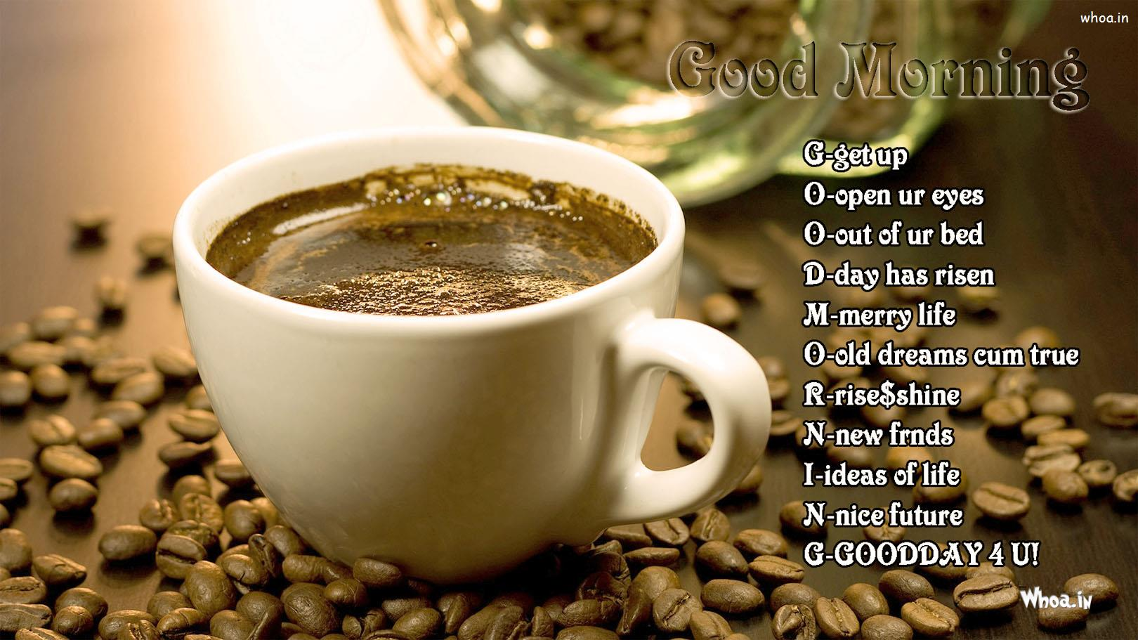 Hd wallpaper good morning -  Hd Wallpaper Good Morning And Cup Of Coffee With Good Morning Quotes Wallpaper