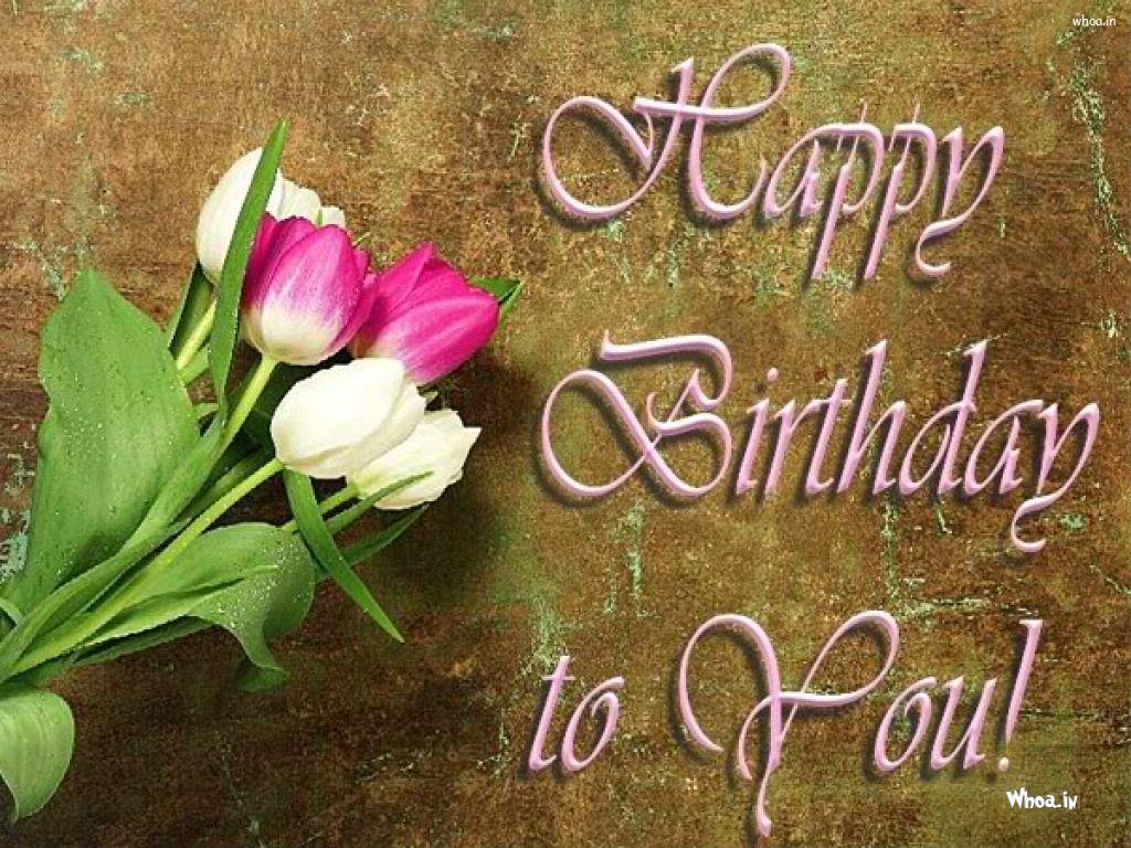 Happy birthday flower hd wallpaper izmirmasajfo