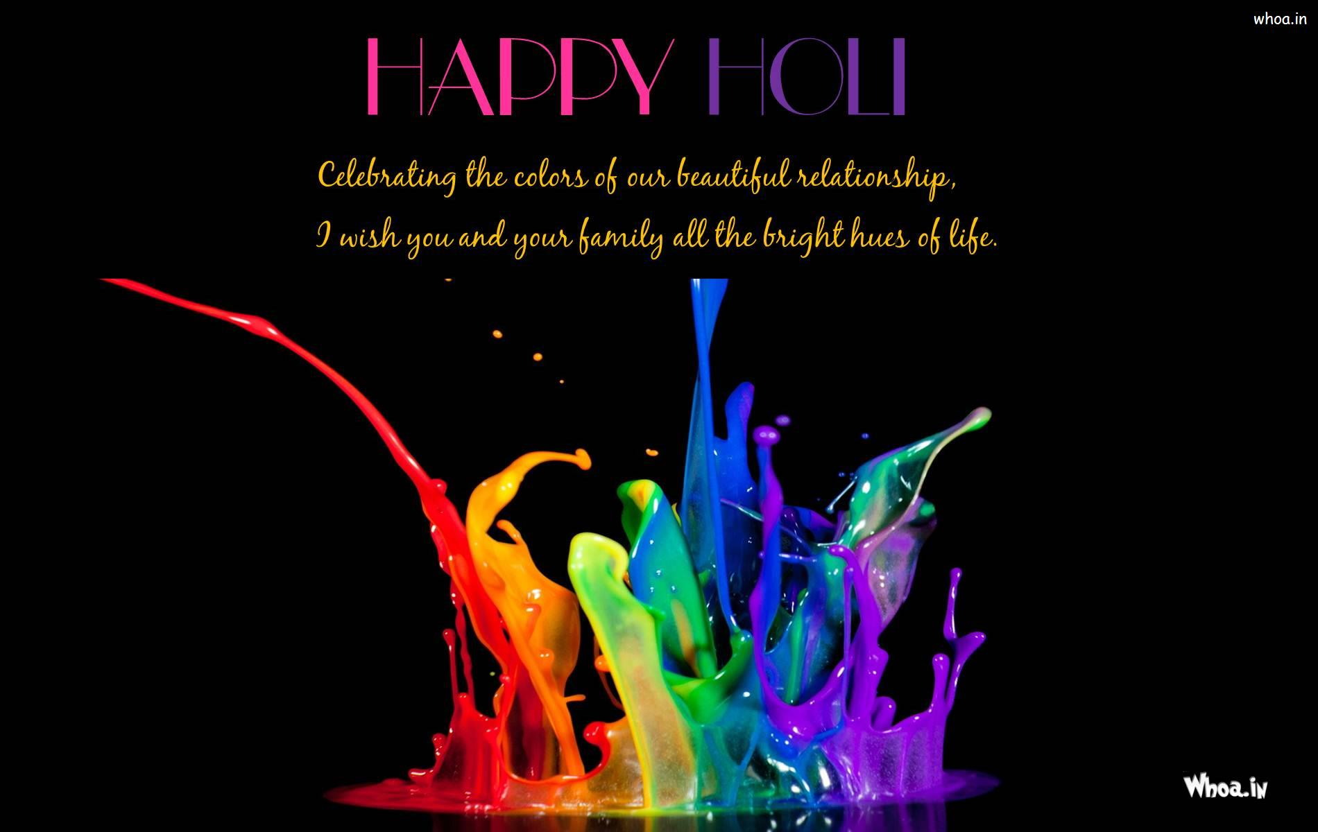 happy holi let there be colours all around colour full flower holi