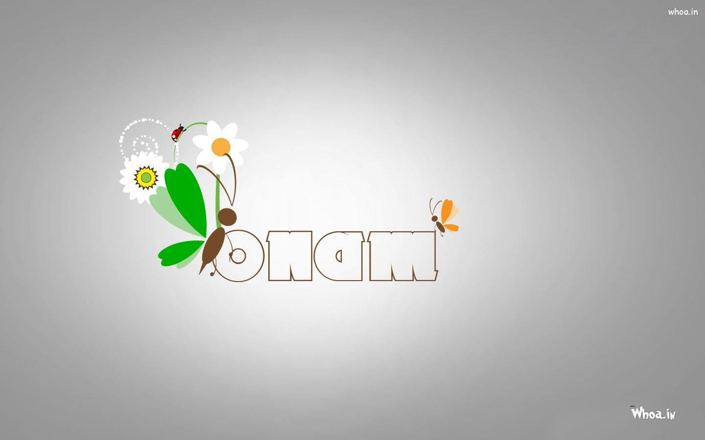 Happy Onam Greetings Hd Wallpaper