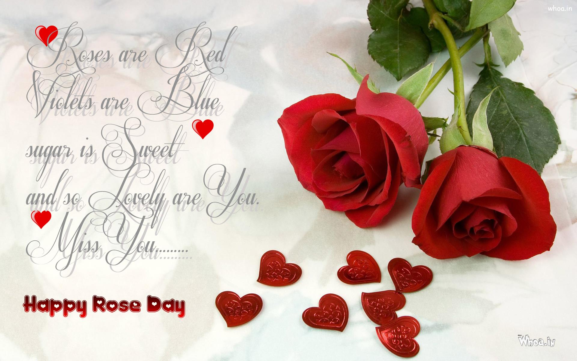 Happy Rose Day Wallpaper Greetings For Rose Day And Quotes