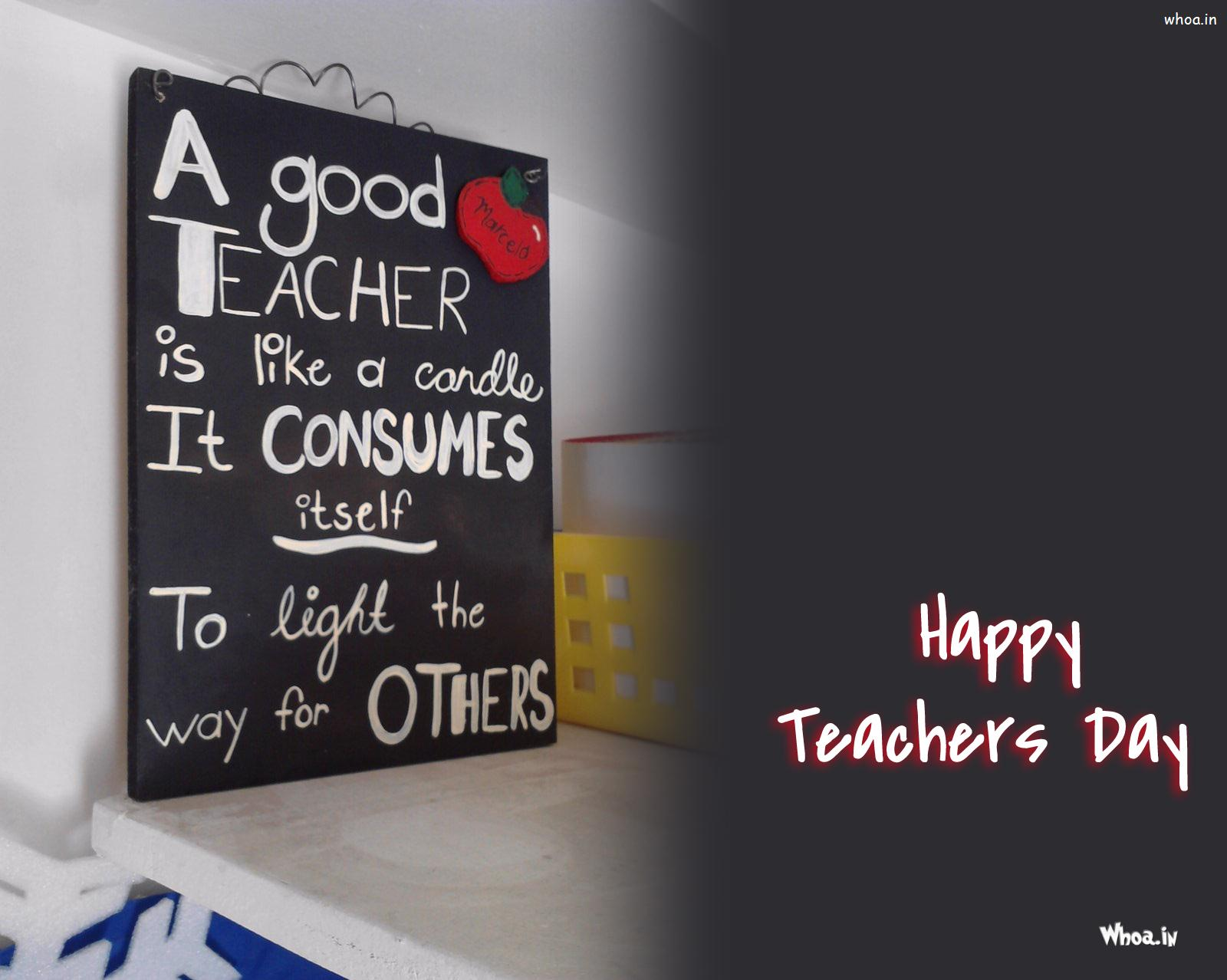 Happy teachers day quotes on a blackboard happy teachers day thecheapjerseys Choice Image