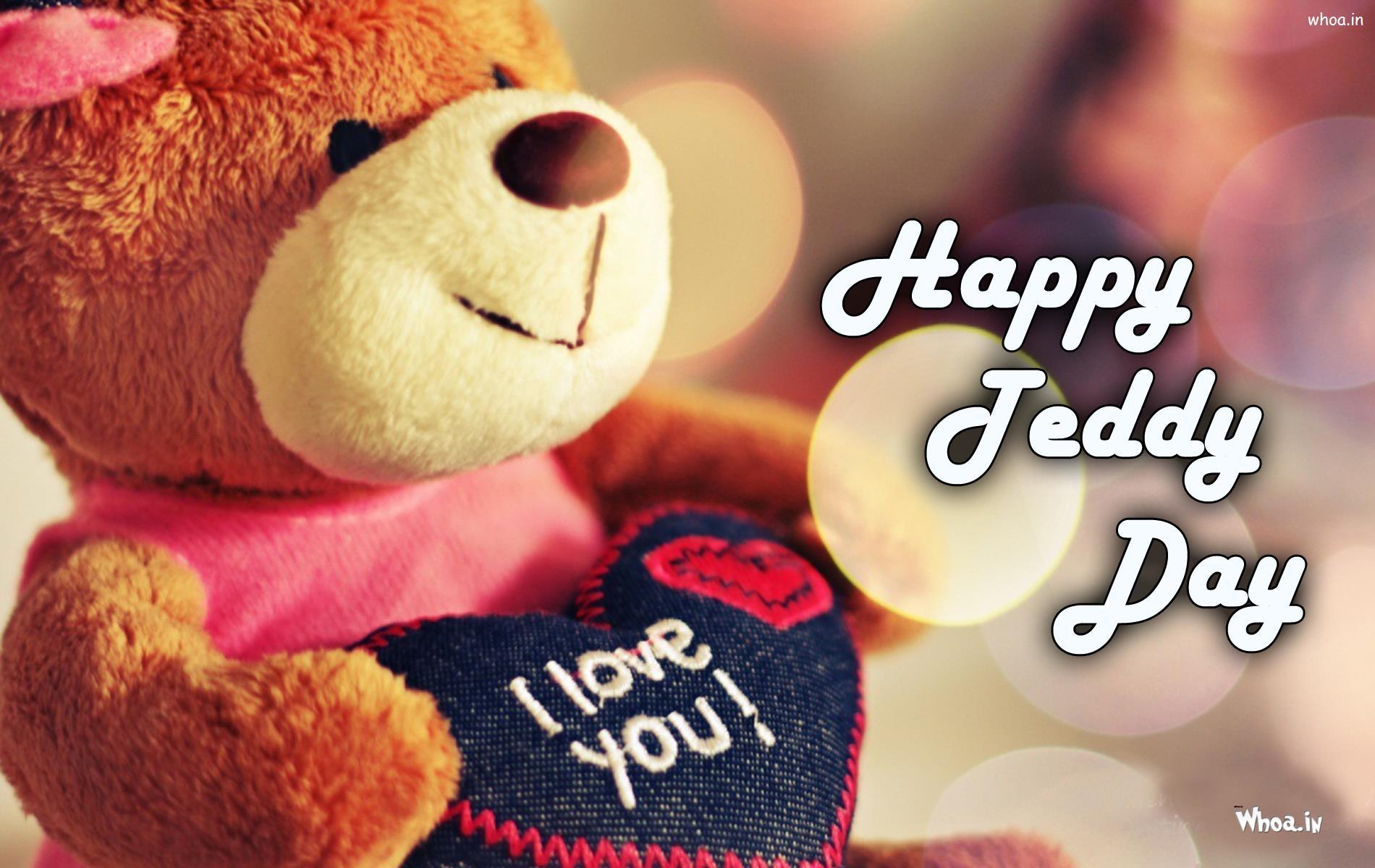 Happy teddy day greetings hd wallpaper1 whatsappgoogle happy teddy day greetings m4hsunfo