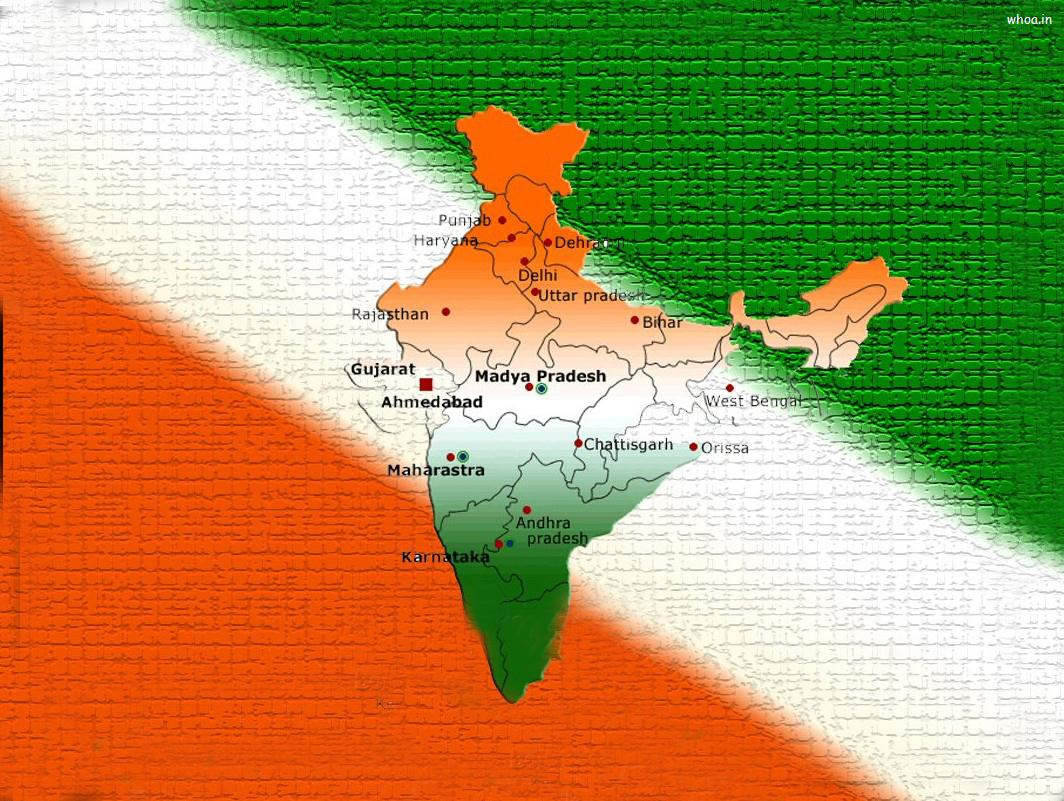 Indian flag in india map wallpaper download gumiabroncs Gallery