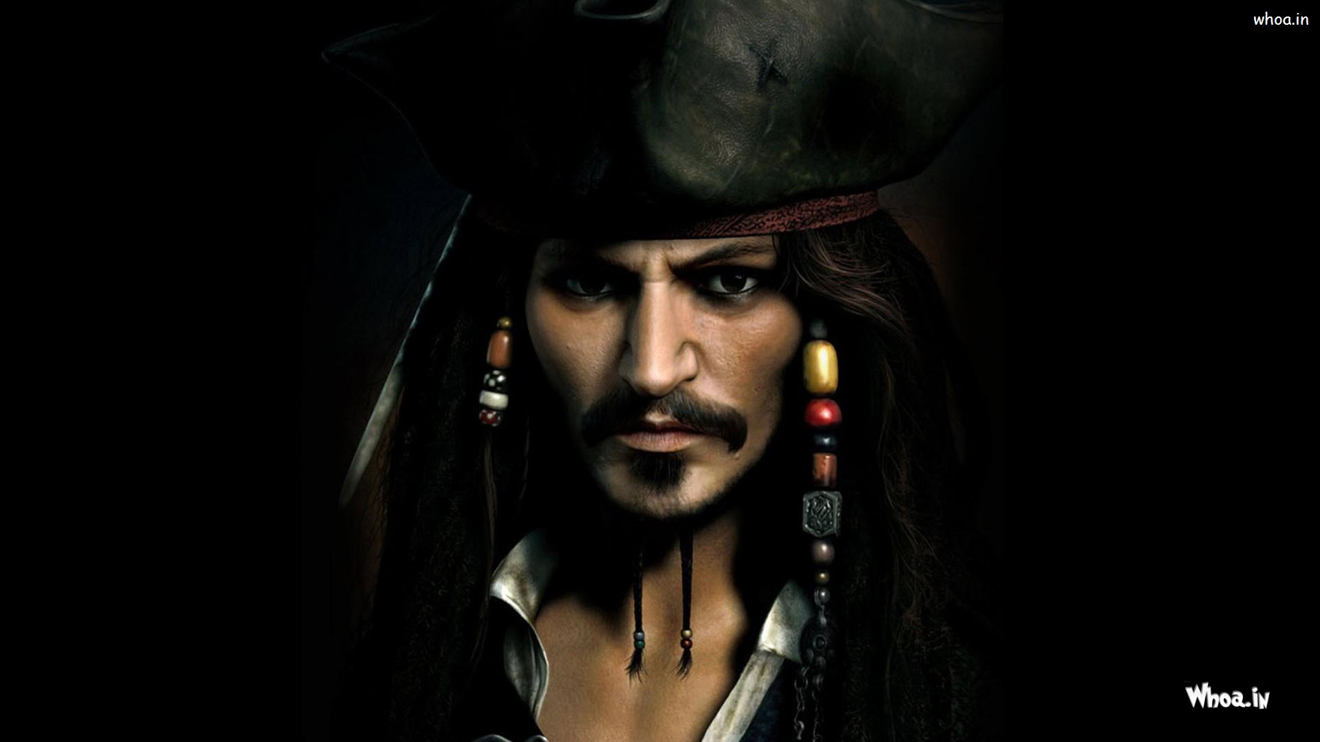 Jack Sparrow As Johnny Depp In Pirate Of Caribbean Hd Wallpaper