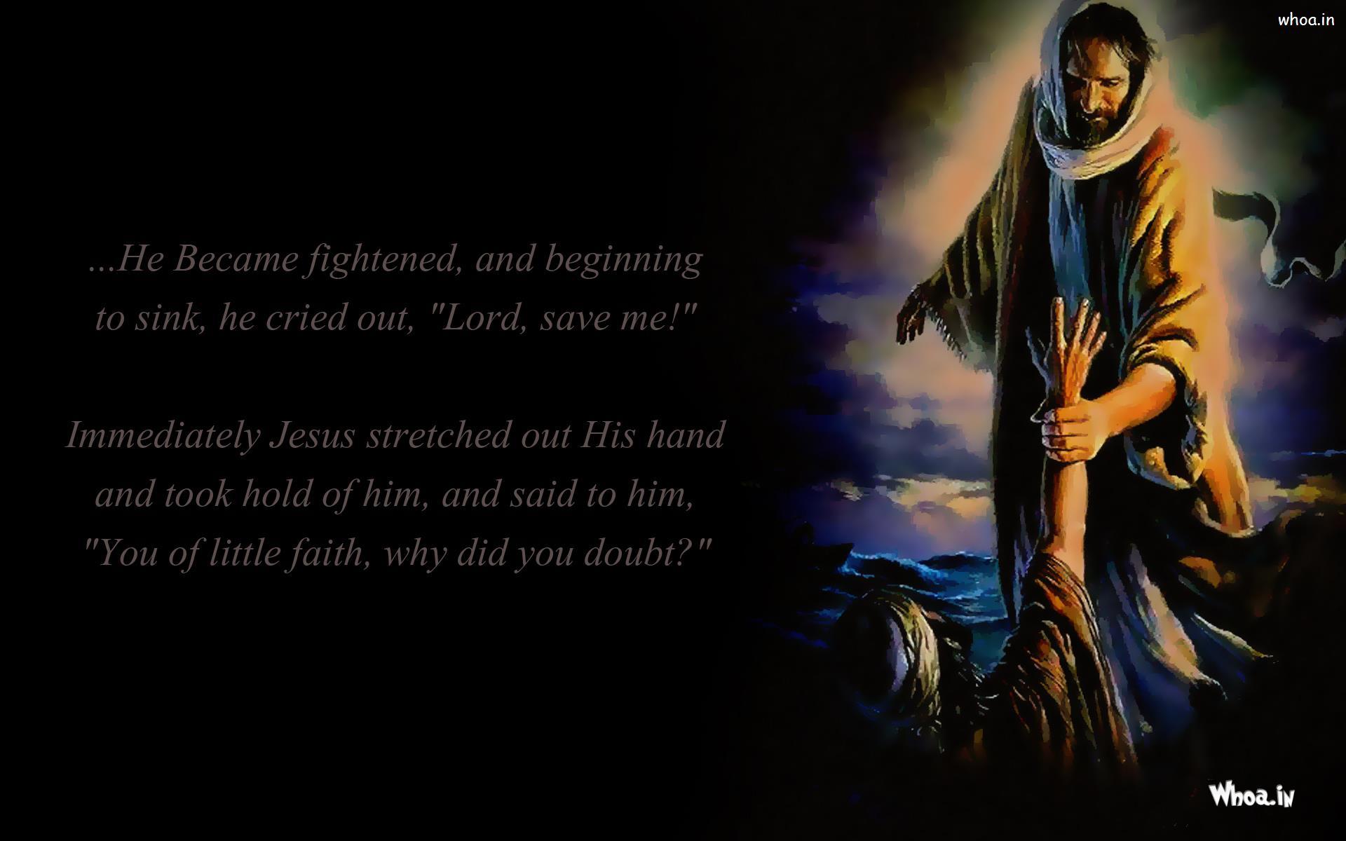 jesus christ stretched out stranger hand hd wallpaper
