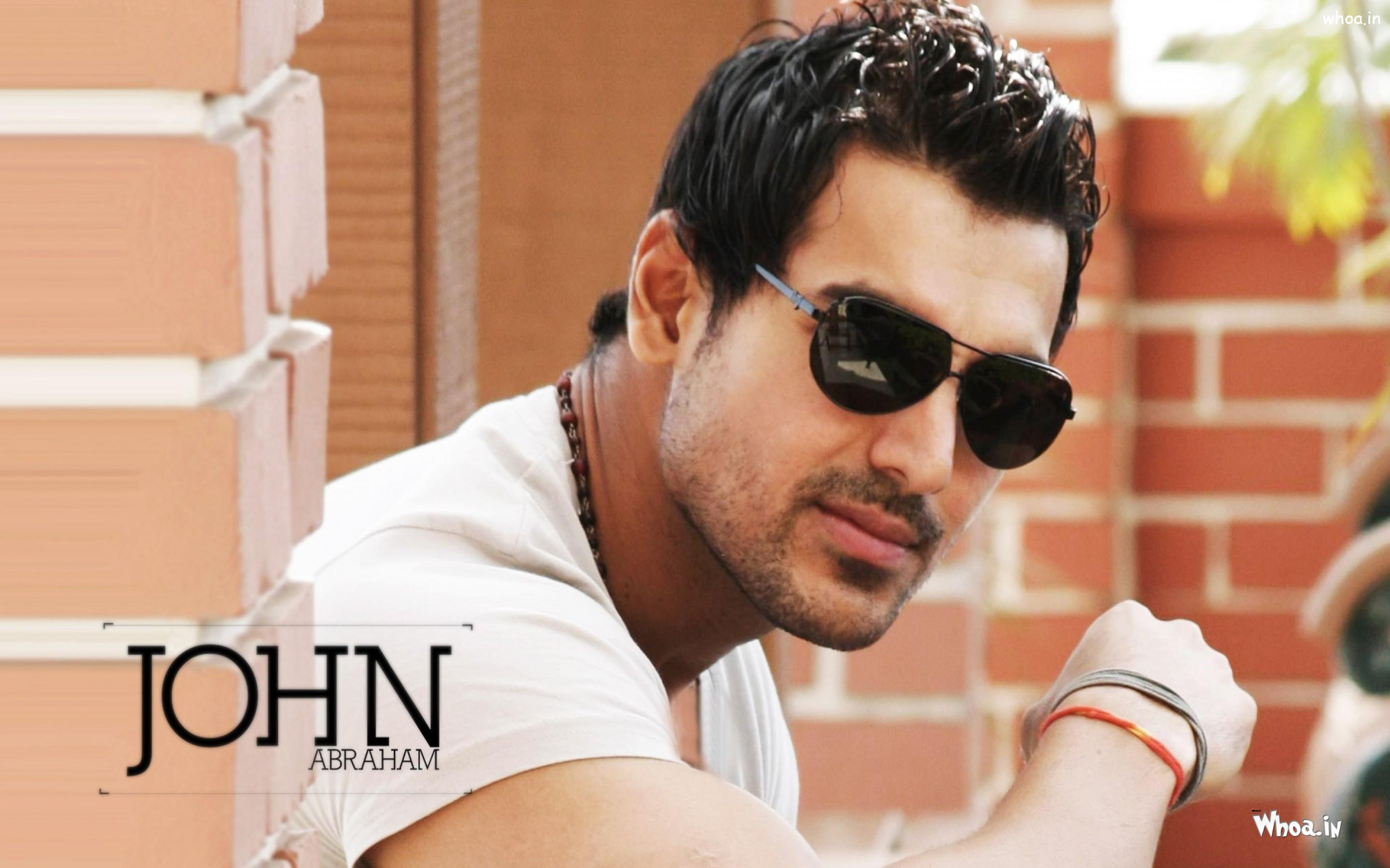 Hd wallpaper john abraham -  John Abraham Stylish Look With Black Sunglass Hd Wallpaper