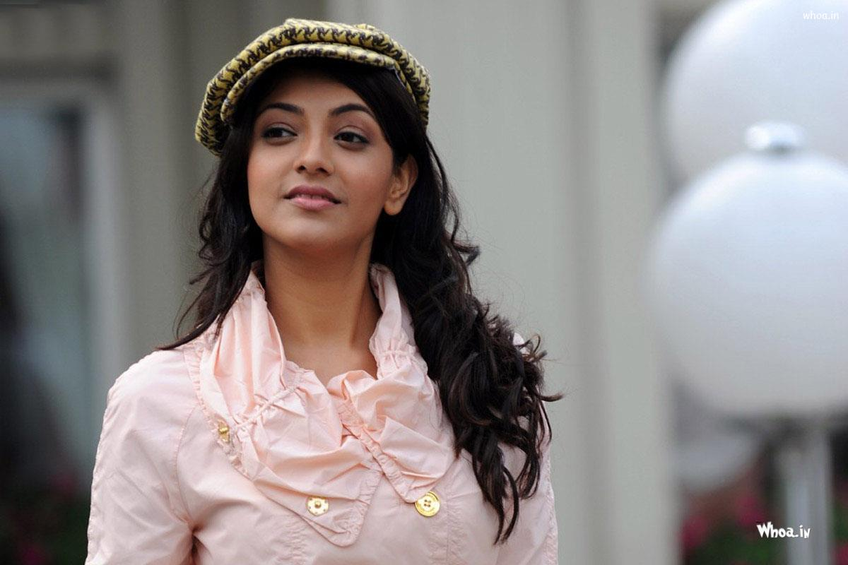 Wallpaper download kajal agarwal -  Kajal Agarwal Cap With Face Closeup Hd Wallpaper