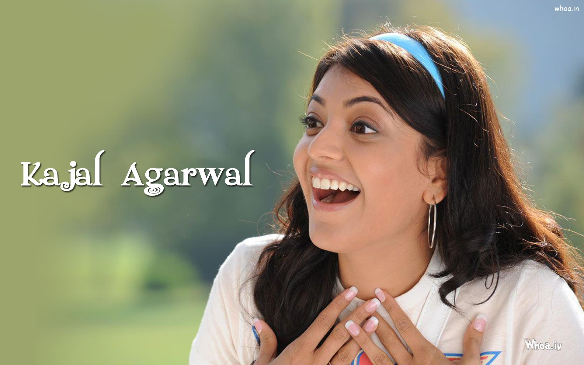 kajal agarwal face close up hd wallpaper