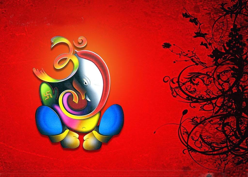 Lord Ganesha With Om