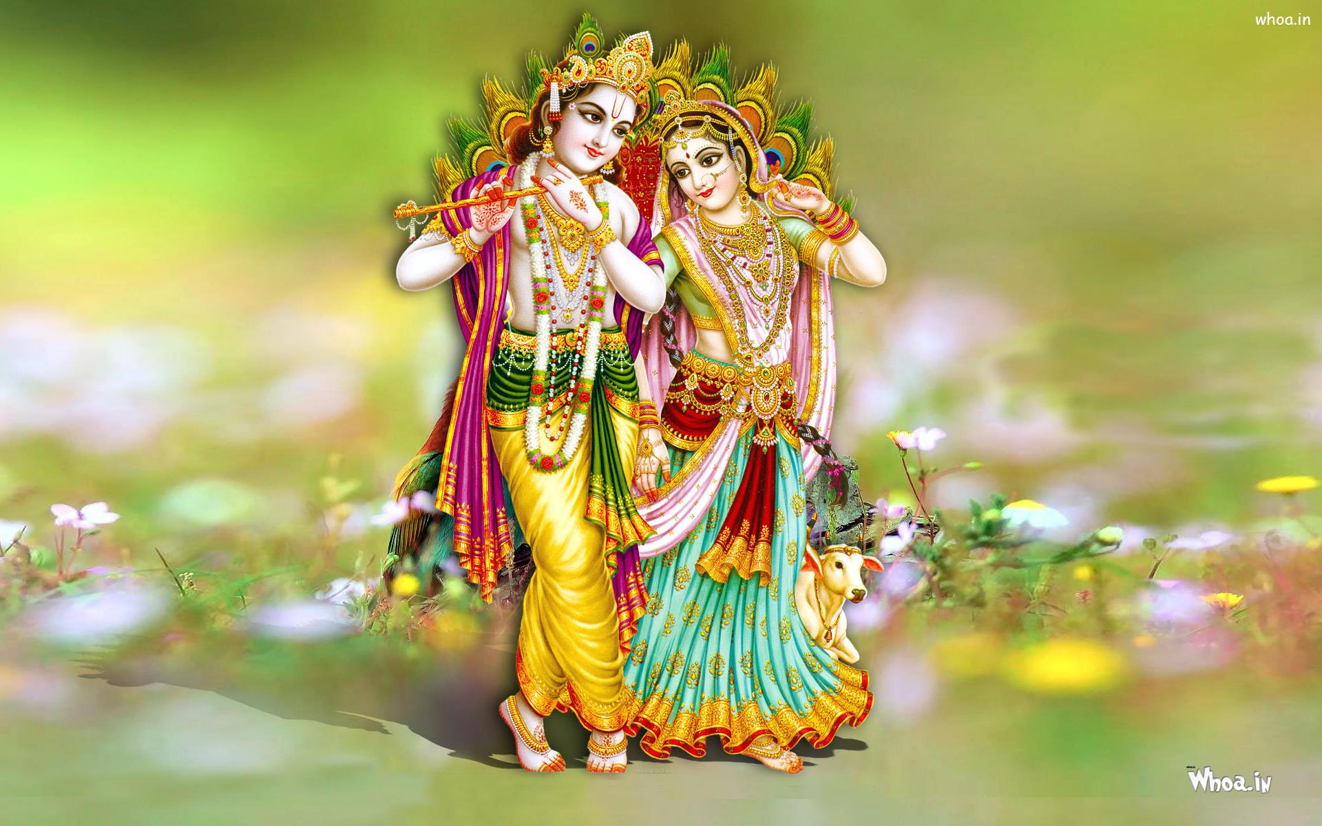 Hd wallpaper lord krishna - Download