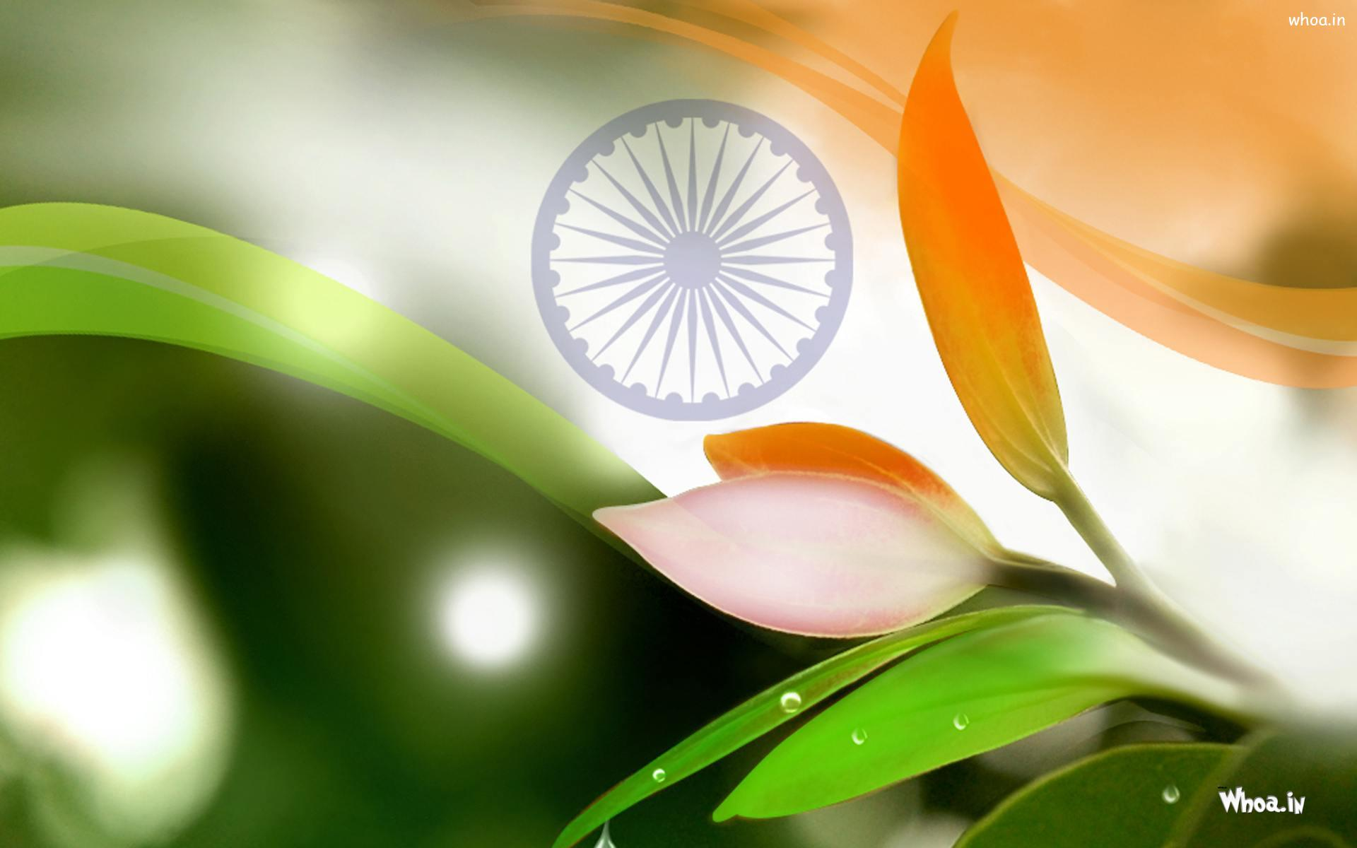 National Flag Happy Independence Day Hd Wallpaper