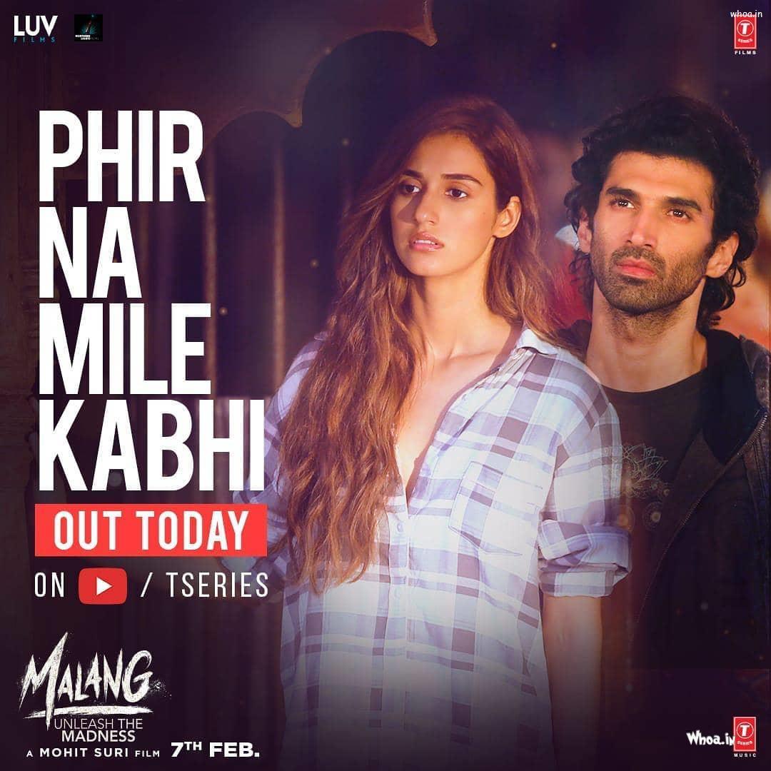 Phir Na Mile Kabhi Song Poster Malang Movie Hd Poster