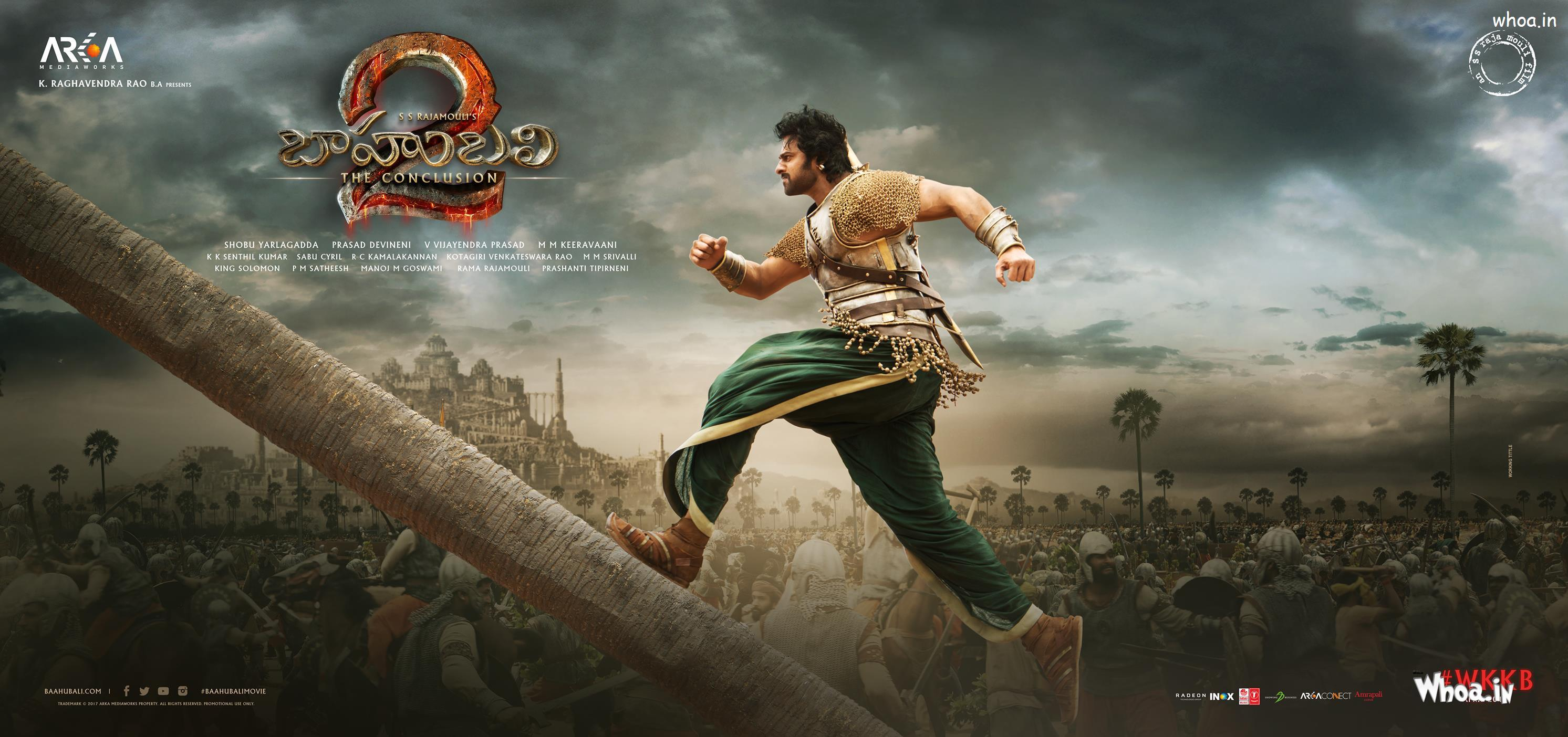 Prabhas Bahubali Movies Ultra Hd Wide Wallpapers And Picture