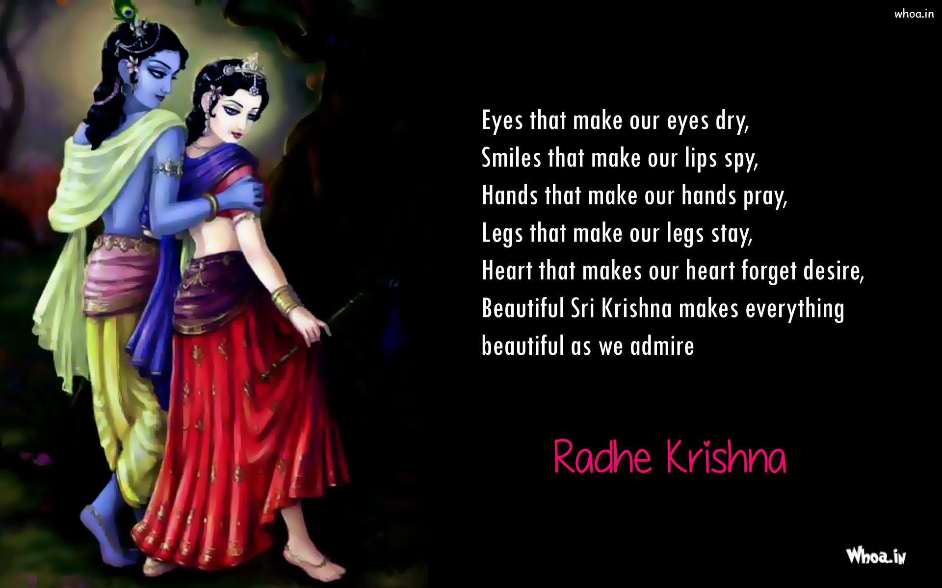 Lord Krishna Quotes Radhe Krishna Quotes Wallpaper And Images Download