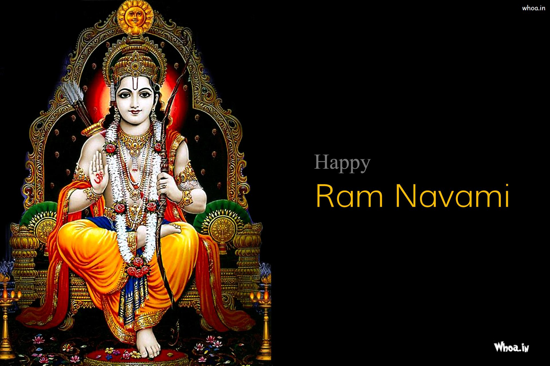 Rama Navami Greetings Hd Wallpaper And Pictures Images