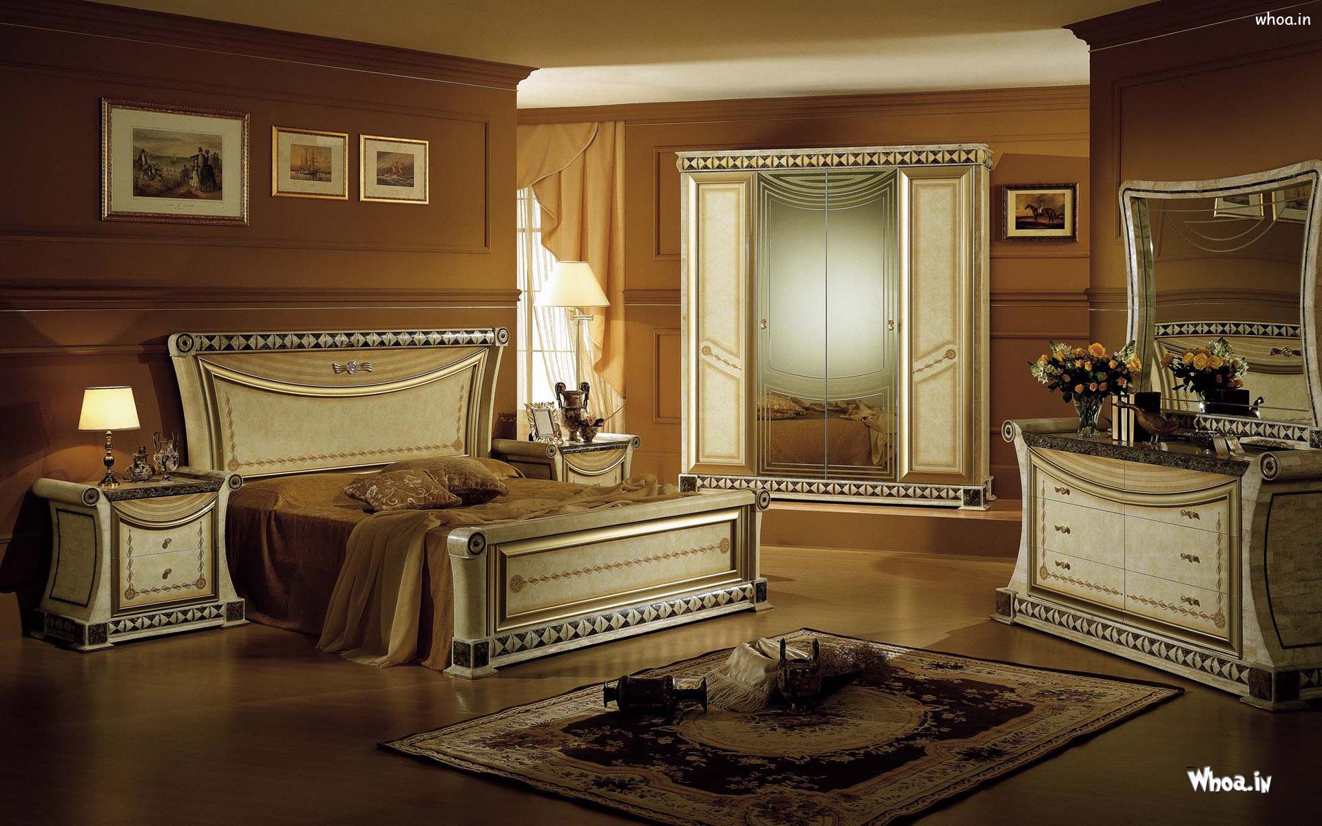 Royal Bedroom Design