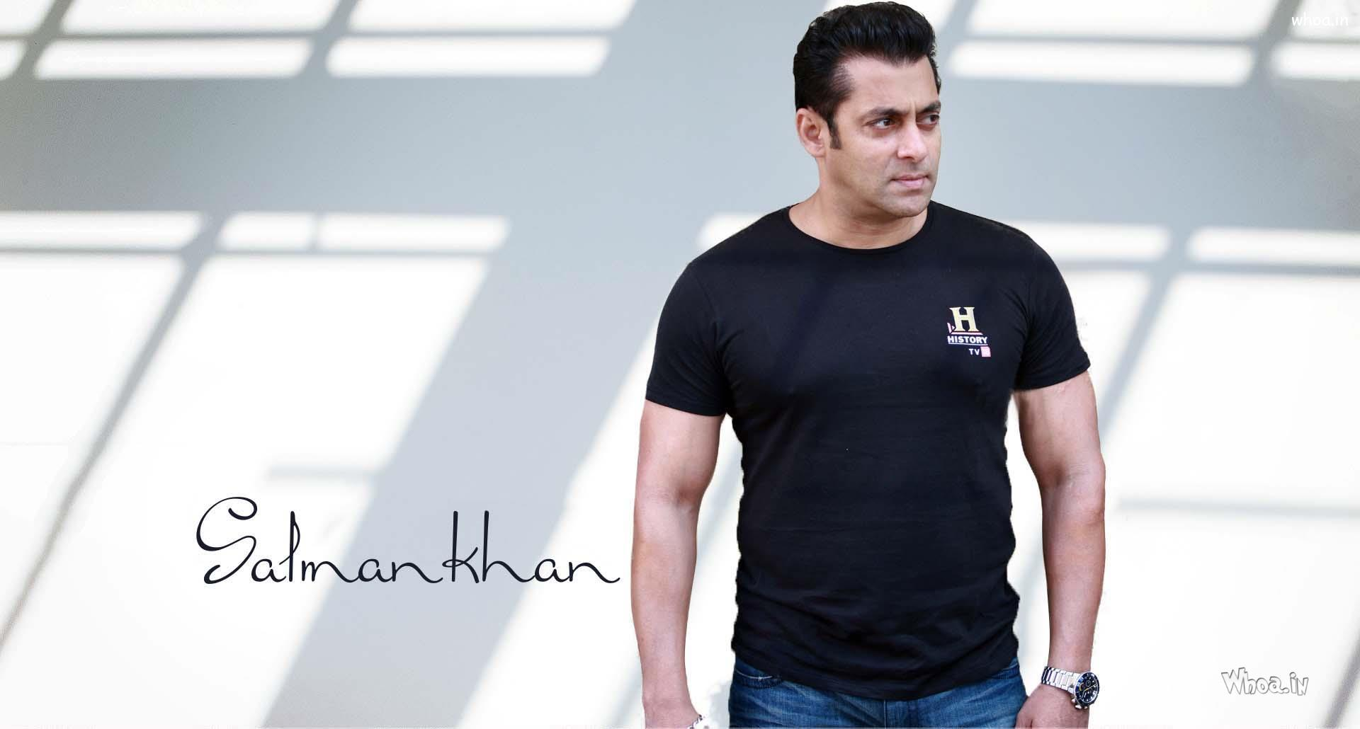 salman khan black hd wallpaper
