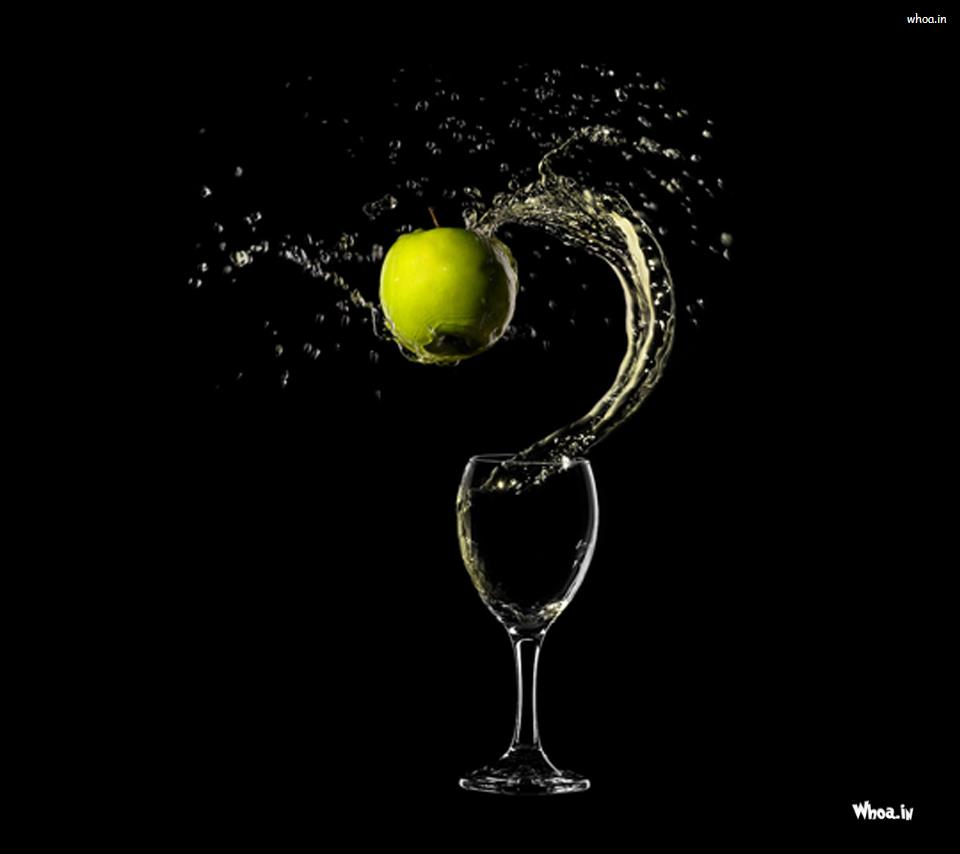 Slow Motion With Dark Background HD Wallpaper