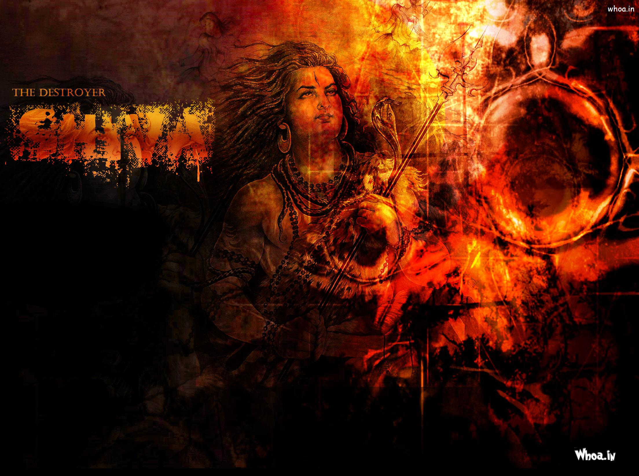 The Destroyer Shiva Hd Wallpaper For Free Download
