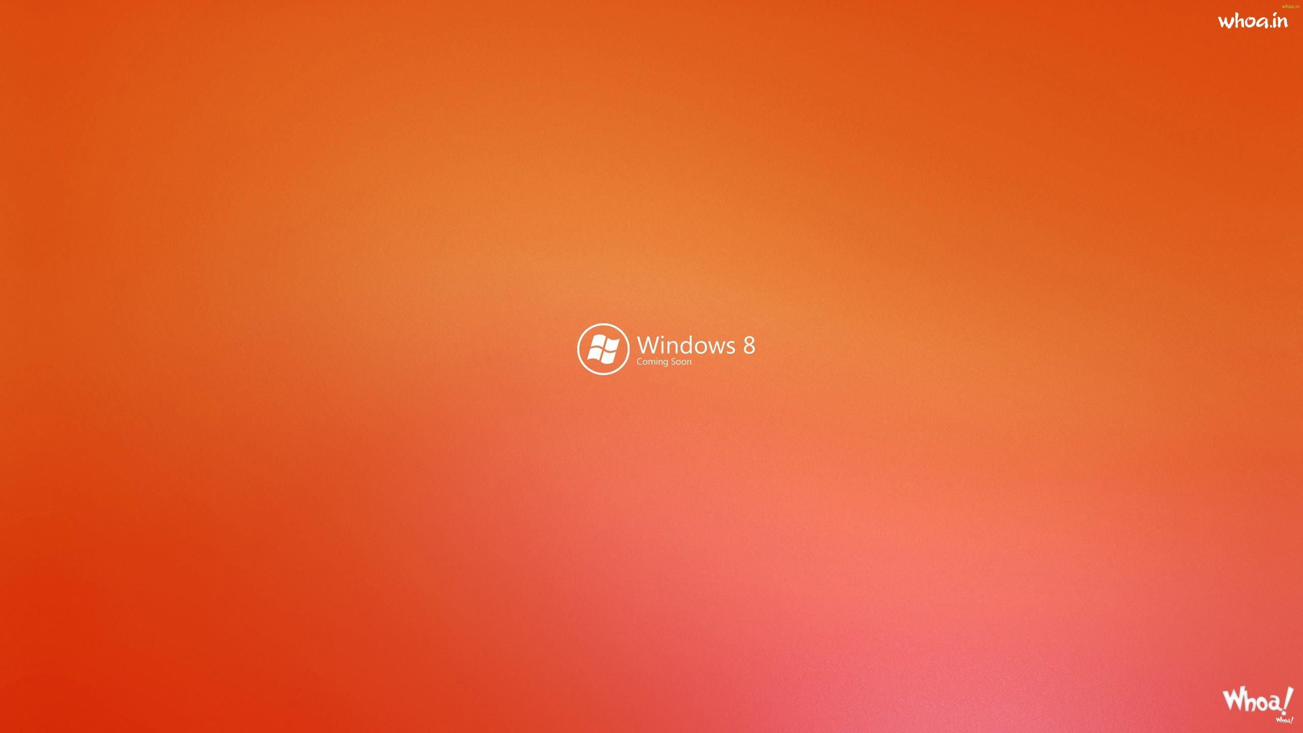windows 8 orange and pink shading hd wallpaper